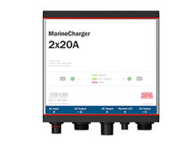 DEFA MARINECHARGER 2X20A - Akkulaturit - DA706100 - 1