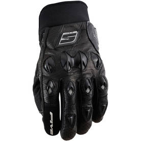 FIVE KÄSINE STUNT LEATHER MUSTA XS - MP-ajohanskat - 661-5049-0 - 1