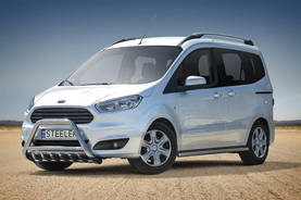 FORD COURIER 2014- - Hyötyajoneuvojen valoraudat - COURIER-R1460 - 1