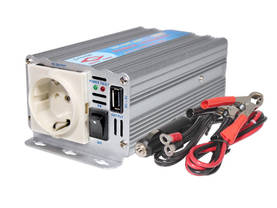 INVERTTERI 12V->230V 300W NEW - 12V Invertteri - G-12-030 - 1