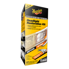 MEGUIAR''S HEAVY DUTY HEADLIGHT RESTORATION KIT - Kiillotusaineet - G2980 - 1