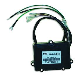 CDI ELEC. MERCURY CDI ELEC. MARINER SWITCH BOX - 2 CYL. - Cdi-laitteet - 113-114-7452K1 - 1