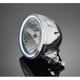HIGHWAY HAWK HEADLIGHT WITH LED-RING - Etuvalot - 561-68-0351 - 1