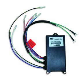 CDI ELEC. MERCURY CDI ELEC. MARINER SWITCH BOX - 2 CYL - Cdi-laitteet - 113-114-4952 - 1