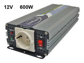 INVERTTERI SINI 12V 700W INTELLIGENT - 12V siniaalto invertteri - 1702-8562 - 1
