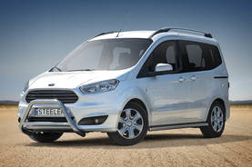 FORD COURIER 2014- - Hyötyajoneuvojen valoraudat - COURIER-R1460-03 - 1