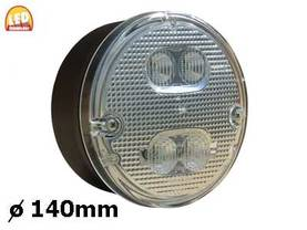LED-PERUUT.+TAKASUM.140MM - LED-takavalot - 1606-27673 - 1