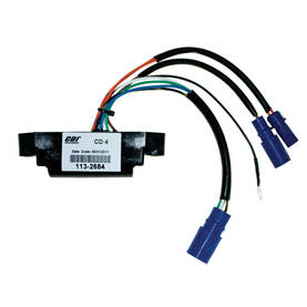 CDI ELEC. JOHNSON EVINRUDE POWER PACK CD4 - Cdi-laitteet - 113-113-2684 - 1