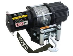 BRONCO GEN II WINCH 4500 WIRE - Vinssit - 73-625 - 1