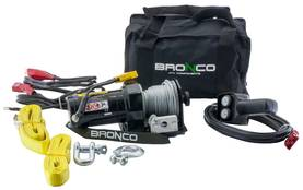 BRONCO PORTABLE WINCH 2000 - Vinssit - 73-626 - 1