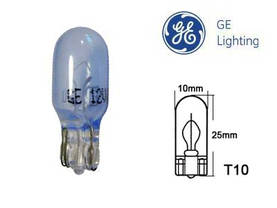 "GE (91625BLUE) 5W T10 ""LIGHT BLUE"" - 12V lasikanta halogen - E862673ADAA72EE58F - 1"
