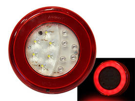 "LED-TAKAVALO ""NEON EFFECT"" 12/24V Ø140MM - LED-takavalot - 1608-6748 - 1"