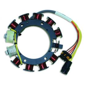CDI ELEC. JOHNSON EVINRUDE OPTICAL STATOR - 4 CYL. (20 AMP) - Staattori - 113-173-4849 - 1