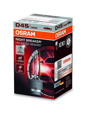 OSRAM D4S XENARC NIGHT BREAKER UNLIMITED +70% -POLTTIMO - D4S ja D4R - 66440XNB - 1