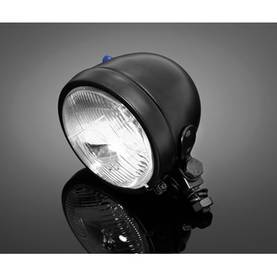 HIGHWAY HAWK SPOTLIGHT BLACK E-MARK - Etuvalot - 561-68-130B - 1