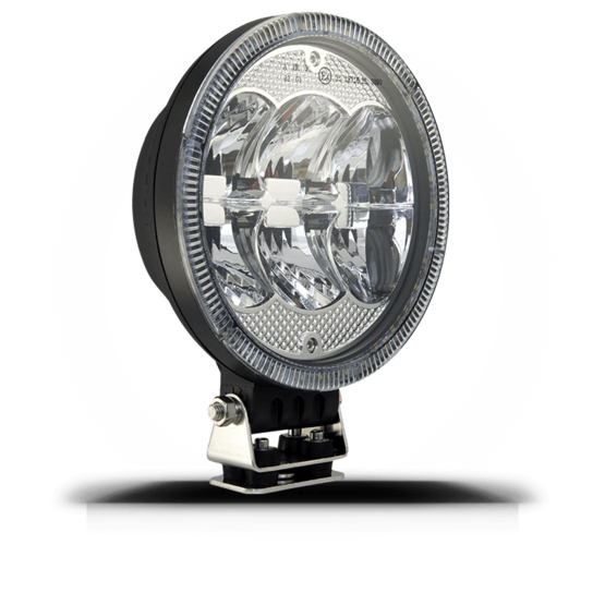"Walonia Nightglow 9"" - LED-lisävalot yli 160mm - 3550-70509LED - 1"