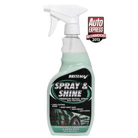 Britemax Spray & Shine 3.78 L - Quick detailerit - BX117-G - 1